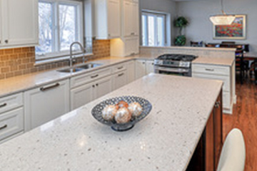 stone countertop kitchen